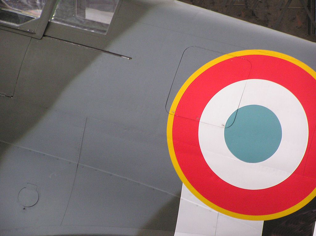 WW2 L'armée de l'air - The French Air Force Supermarine Spitfire fighter plane - Moore Aircraft warbird aviation photographs