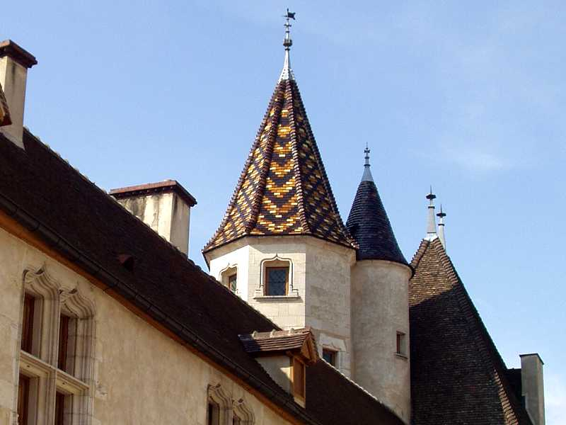 Beaune is the capital of the French Burgandy