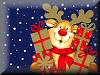 click here to see Father Christmas hoilday season photographic wallpaper