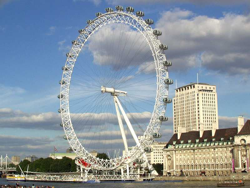 London, England - free photographic wallpaper of some of the tourist sites of