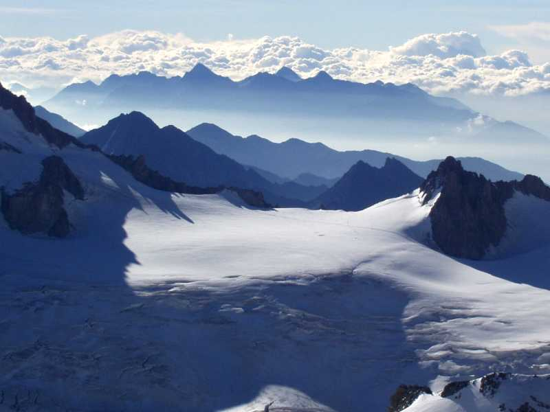 Aretes in Mountain areas are glaciers erosion features