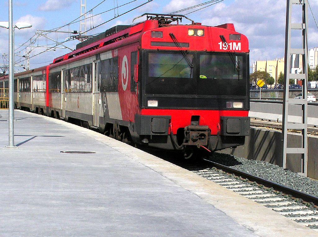 Commuter Rail Train