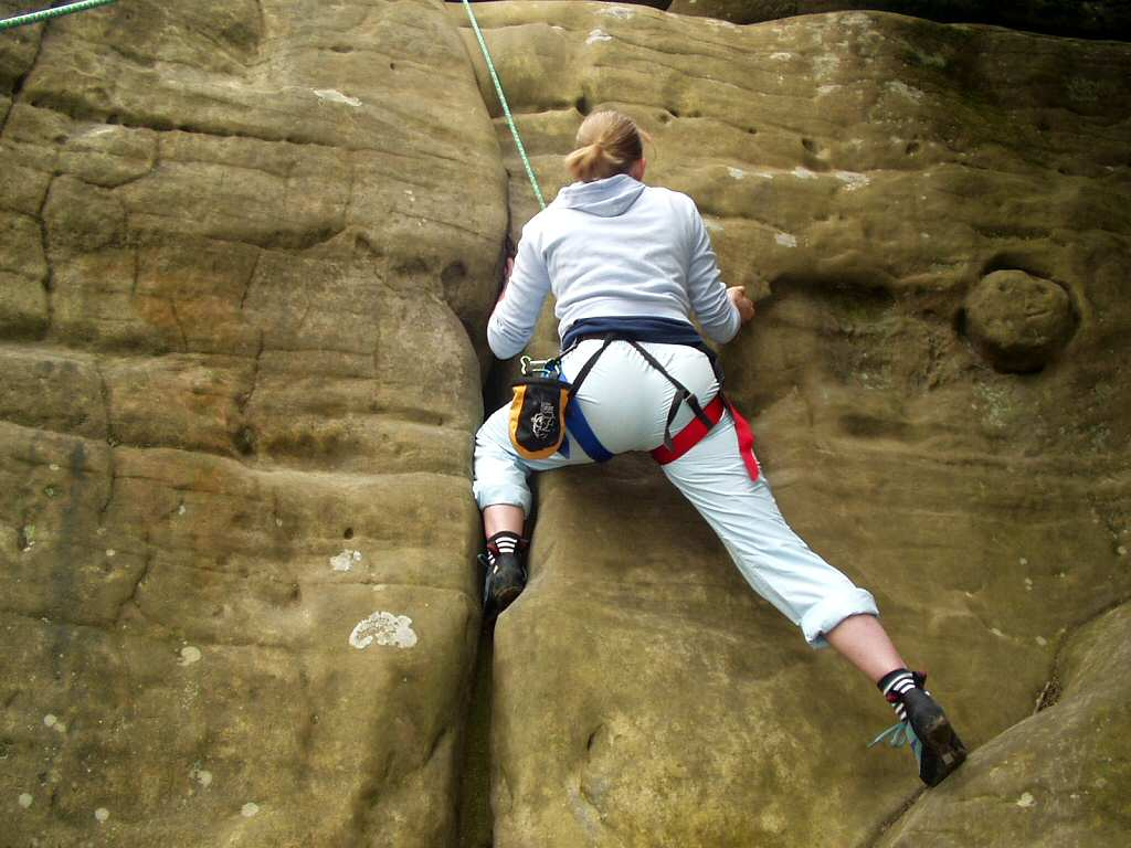 Rockclimbing free photographic wallpaper - Rock 
