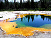 Yellowstone National Park Geothermal features