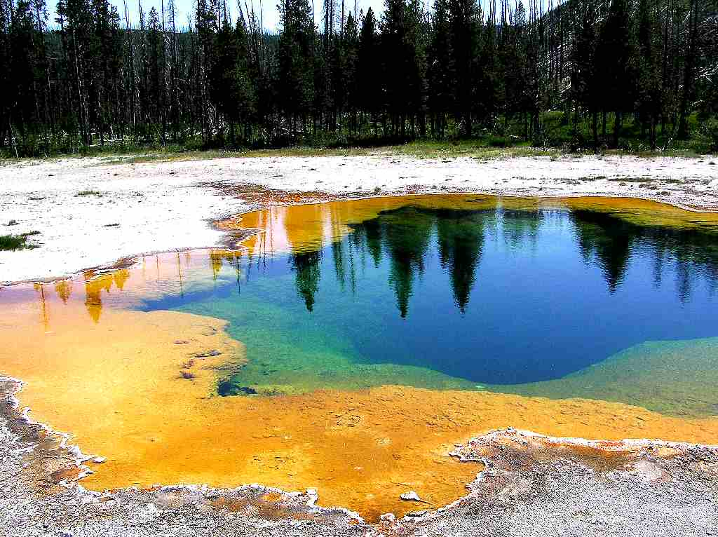 Yellowstone National Park NPS Idaho Montana Wyaoming USA